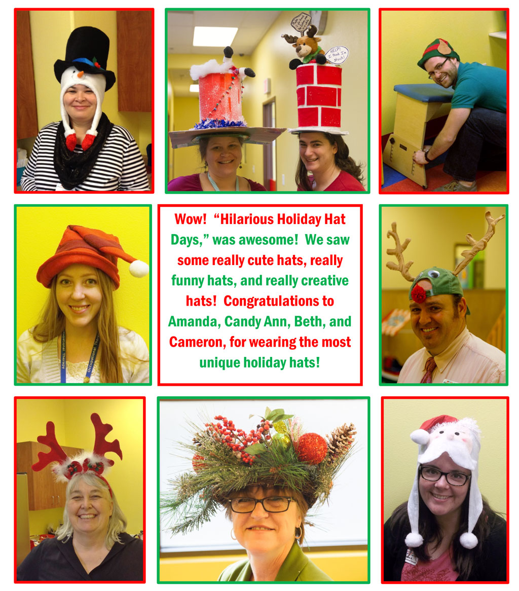 2014 Hilarious Holiday Hat Days